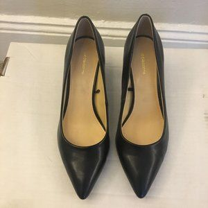 Liz Claiborne Black Pumps Block Heel